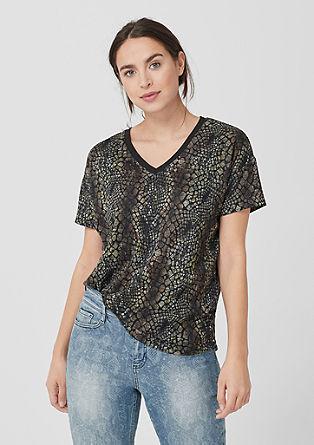 T-Shirt mit Musterprint