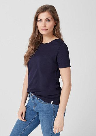 Interlock-Shirt in Unicolor