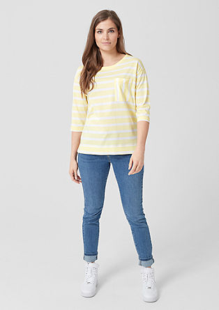 Striped mullet top from s.Oliver