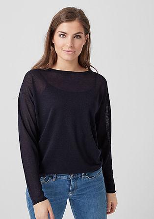 Lahek prosojen pulover