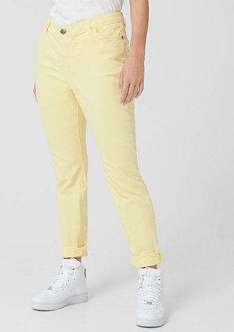 Curvy Extra Slim Leg: Coloured Denim