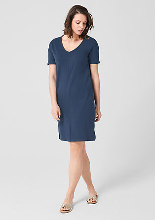 Sportives Interlock-Kleid