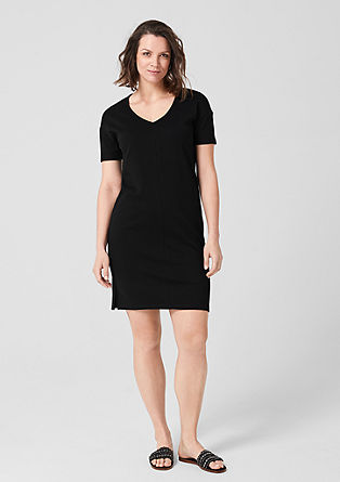 Sporty interlock dress from s.Oliver