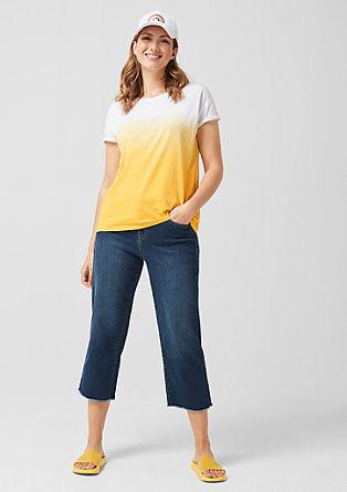 T-shirt met kleurverloop