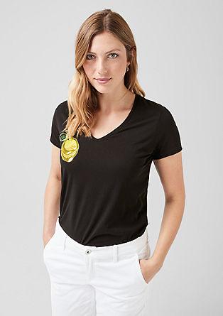 Shirt mit Pailletten-Motiv