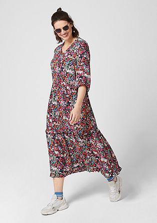 Maxi dress met bloemenprint