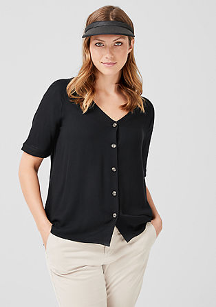 Fine crêpe blouse  from s.Oliver