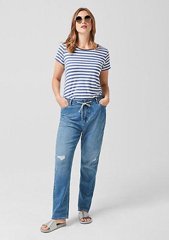 Fancy Boyfriend: Jeans im Used-Look