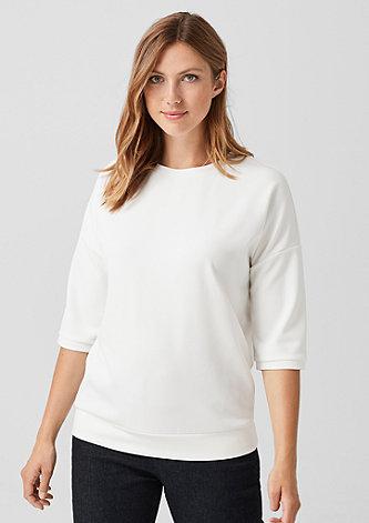 Lässiges Sweatshirt aus Jersey