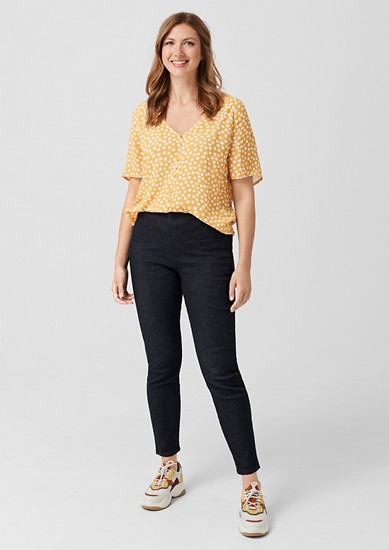 Curvy Extra Slim Leg: džíny svysokým pasem
