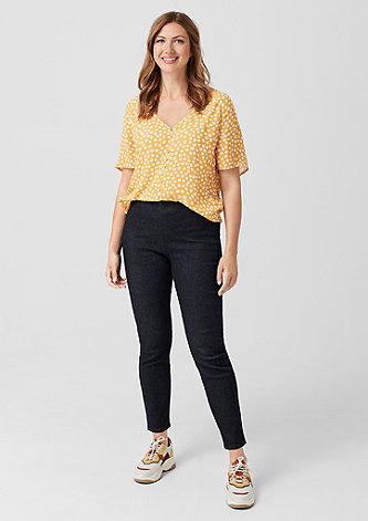 Curvy Extra Slim Leg: High Rise-Jeans