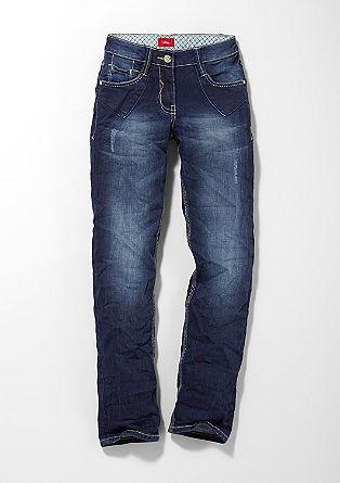 Kimi: Jeans im Used-Look