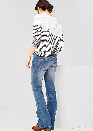 Stretchige Flared Jeans