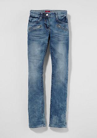 Kimi: Jeans mit Wascheffekt