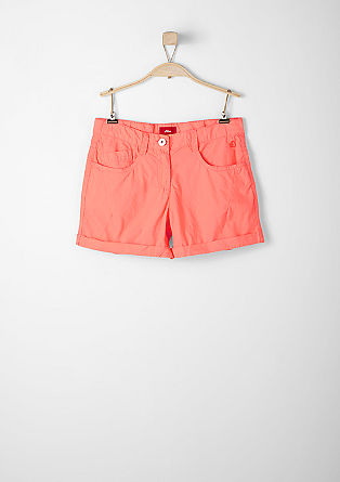 Simple cotton shorts from s.Oliver