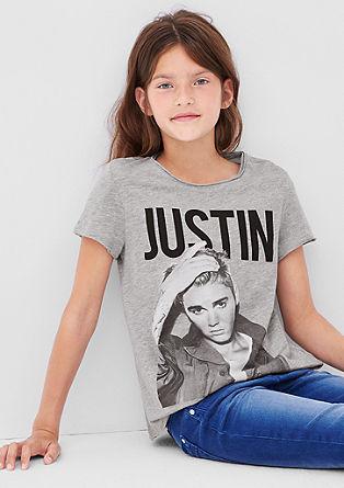 Shirt mit 'Justin Bieber'-Print