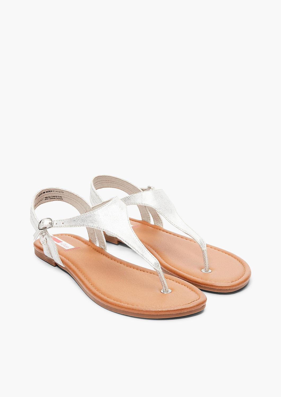Sandalen in Metallic Optik kaufen | s.Oliver Shop