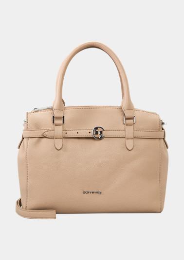 Handtasche mit Dekoriemen