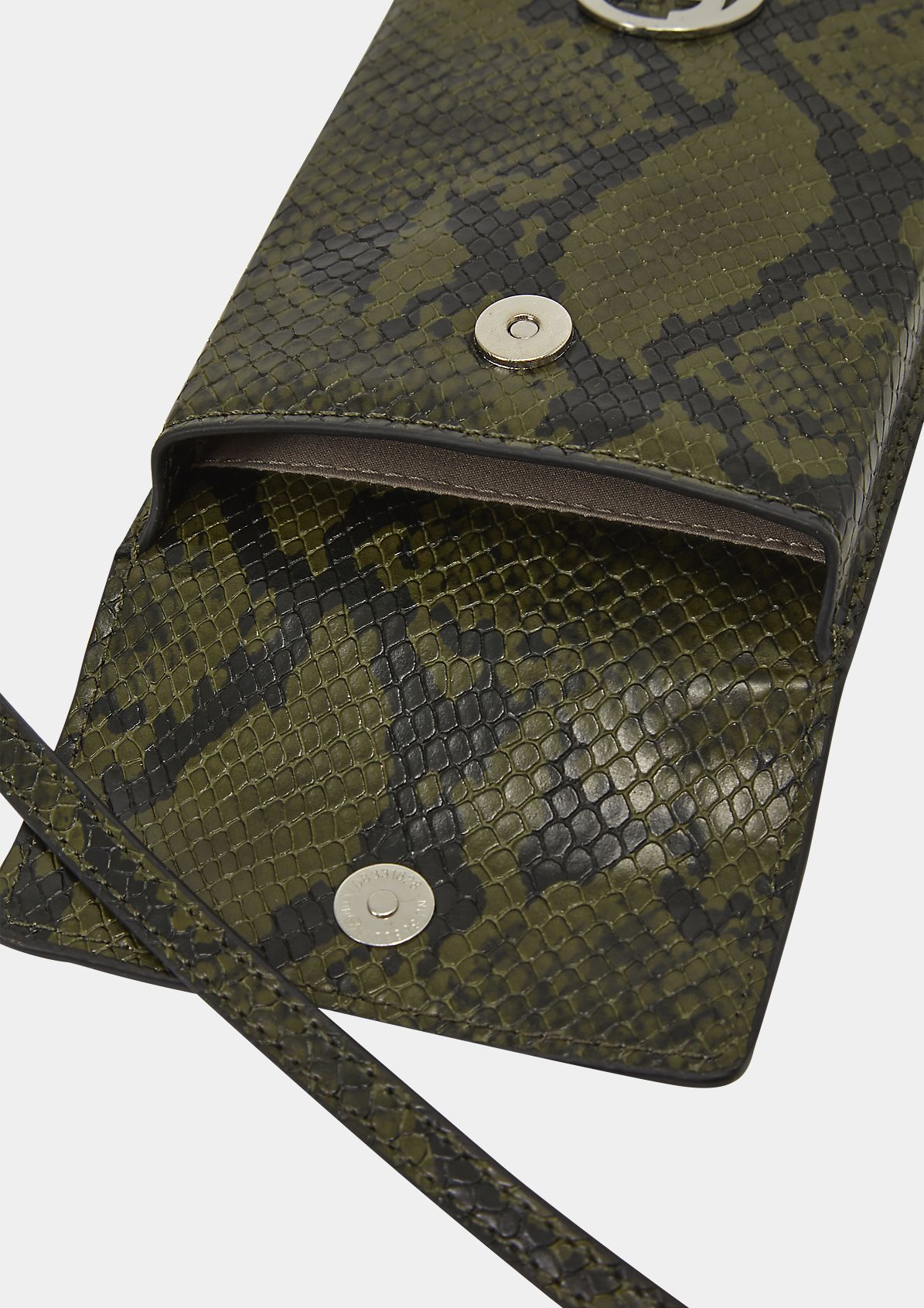 Phone Pouch in Croco-Optik