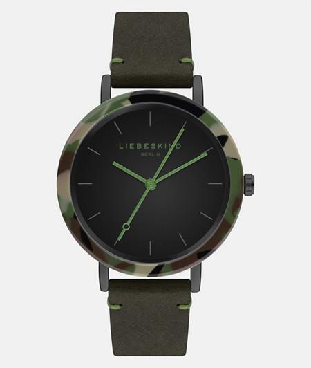 Armbanduhr in Camouflage-Optik