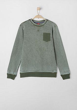 Sweatshirtim Vintage-Look