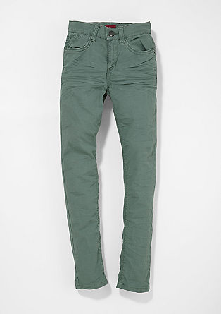 Skinny Seattle: coloured stretch trousers from s.Oliver