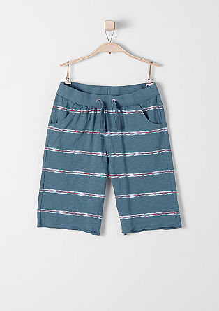 Striped jersey Bermudas from s.Oliver