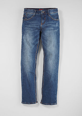 Pete: Jeans mit Used-Waschung