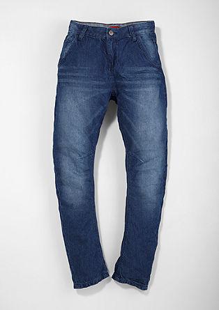 Otis: finely ribbed jeans from s.Oliver