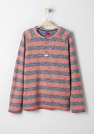 Mottled striped sweatshirt from s.Oliver