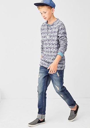 Seattle: Jeans hlače z raztrganinami