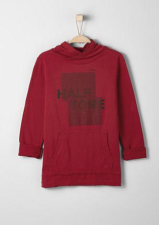 Langarmshirt mit Frontprint