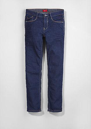 Seattle Slim: Warme Stretch-Jeans