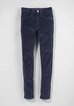 Skinny Seattle: warm corduroy trousers from s.Oliver