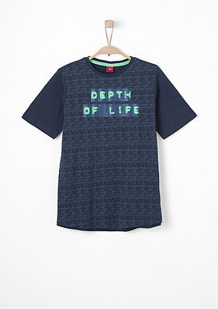Top with vibrant lettering from s.Oliver