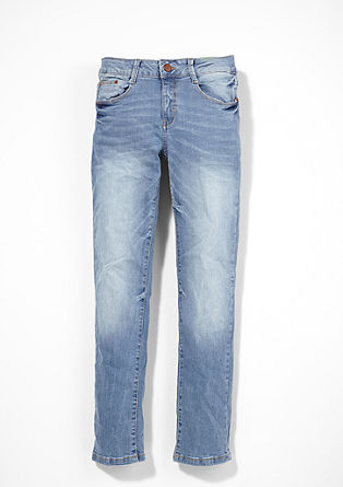 Seattle: Helle Stretch-Jeans