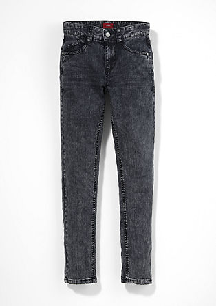 Skinny Seattle: acid washed jeans