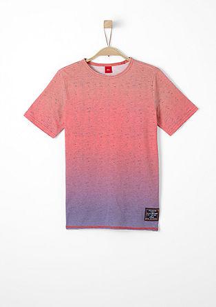 Meliertes Farbverlauf-Shirt