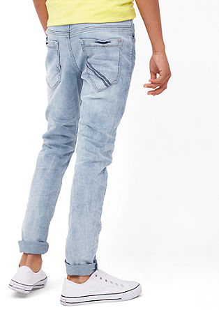Skinny Seattle: Helle Used-Jeans