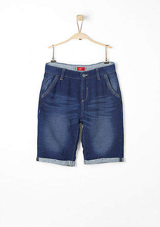 Benno: Bermudas in a denim look from s.Oliver