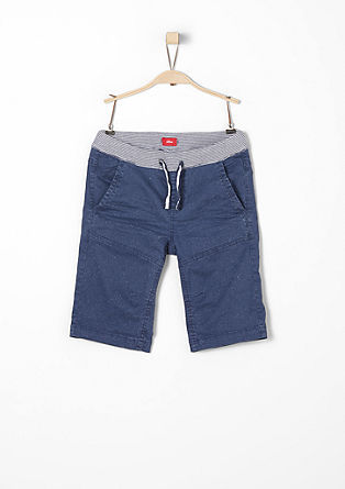 Bermudas with a garment-washed effect from s.Oliver