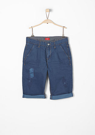 Benno: Bermudas in a vintage finish from s.Oliver