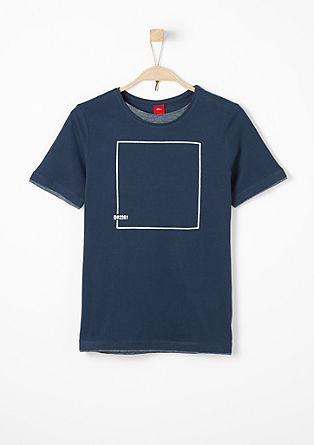 T-shirt with a graphic print from s.Oliver