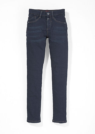 Skinny Seattle: Dark Blue Denim