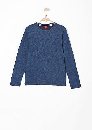 Langarmshirt mit Stitching