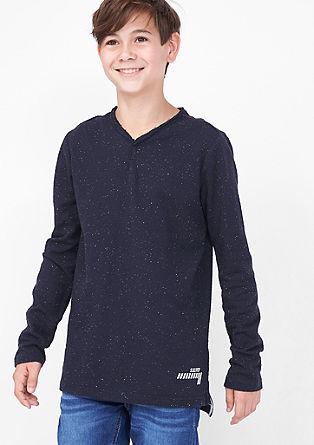 Majica z dolgimi rokavi iz džersija