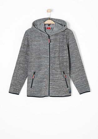 Sweatjacke aus Fleece