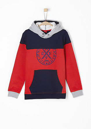 Sweatshirt with colour blocking from s.Oliver