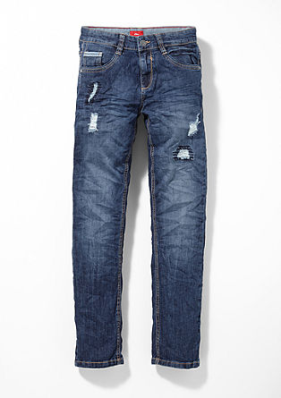 Seattle: Denim with distressed sections from s.Oliver