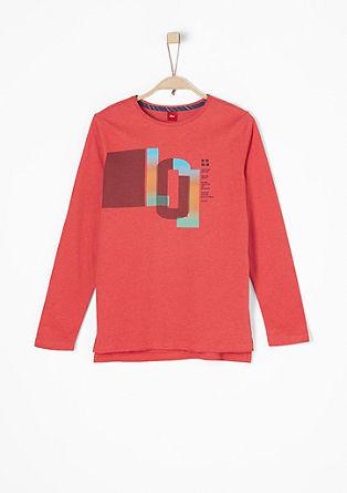 Jersey-Shirt mit buntem Print